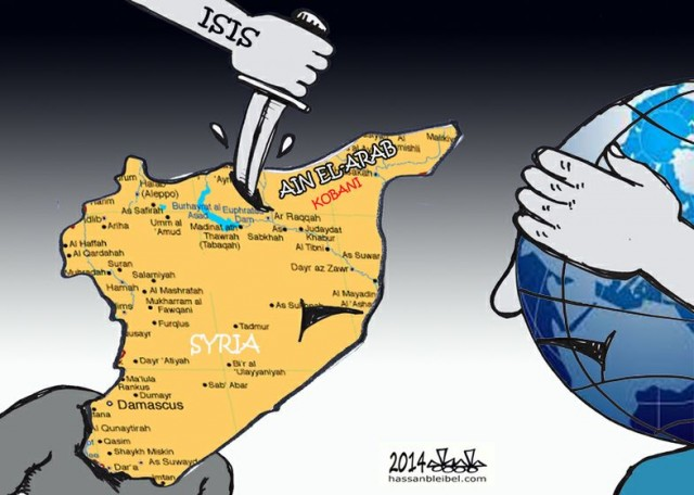 The world is closing its eyes for KOBANI genocide