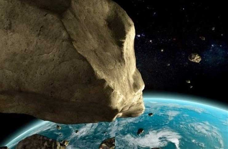 biggest asteroid that will hit earth - photo #13