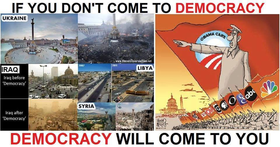 democracy will come