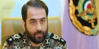 Brigadier General Farzad Esmaili, the commander of the Iranian Army's Khatam al-Anbiya Air Defense Base
