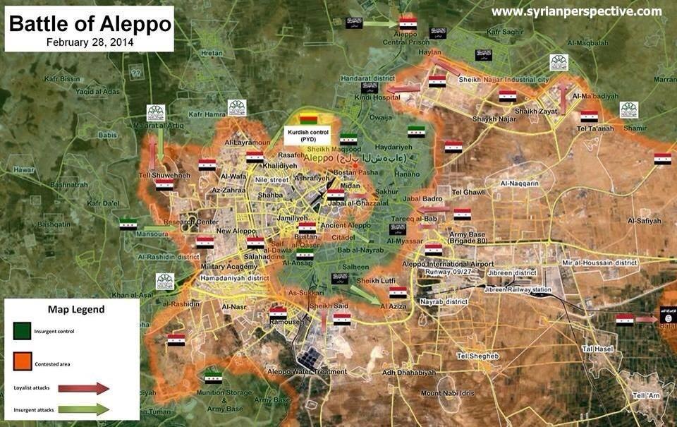 Map displays the recent liberation of Tal-Barakat and Ard al-Hamra
