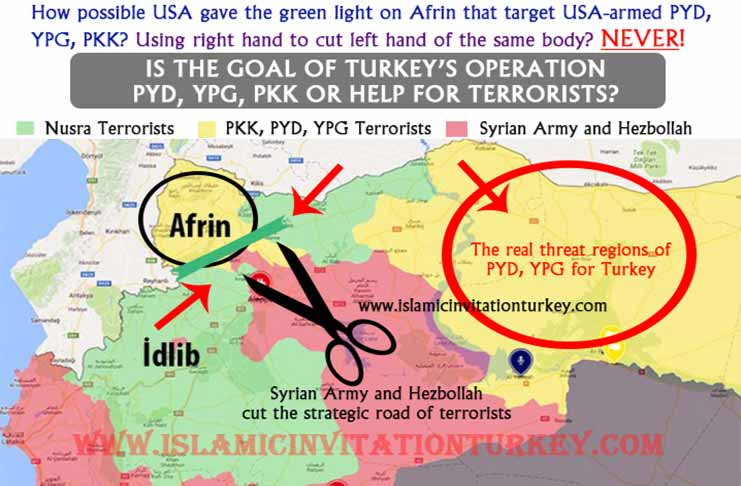 Excl All lies of Turkeys OliveBranch Afrin Operation are exposed